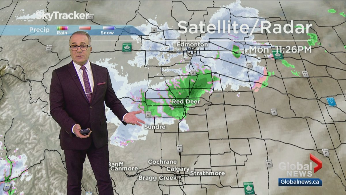 Paul Dunphy has been forecasting the weather for Global Calgary for more than 30 years.