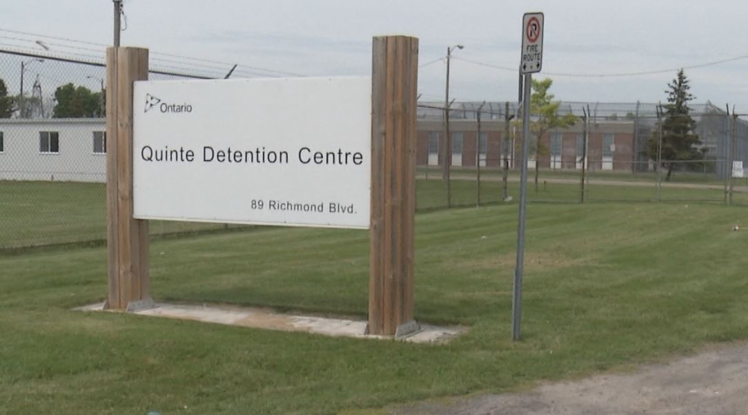 Two Kingston men have been charged in relation to a drone drop at Quinte Detention Centre in late October.