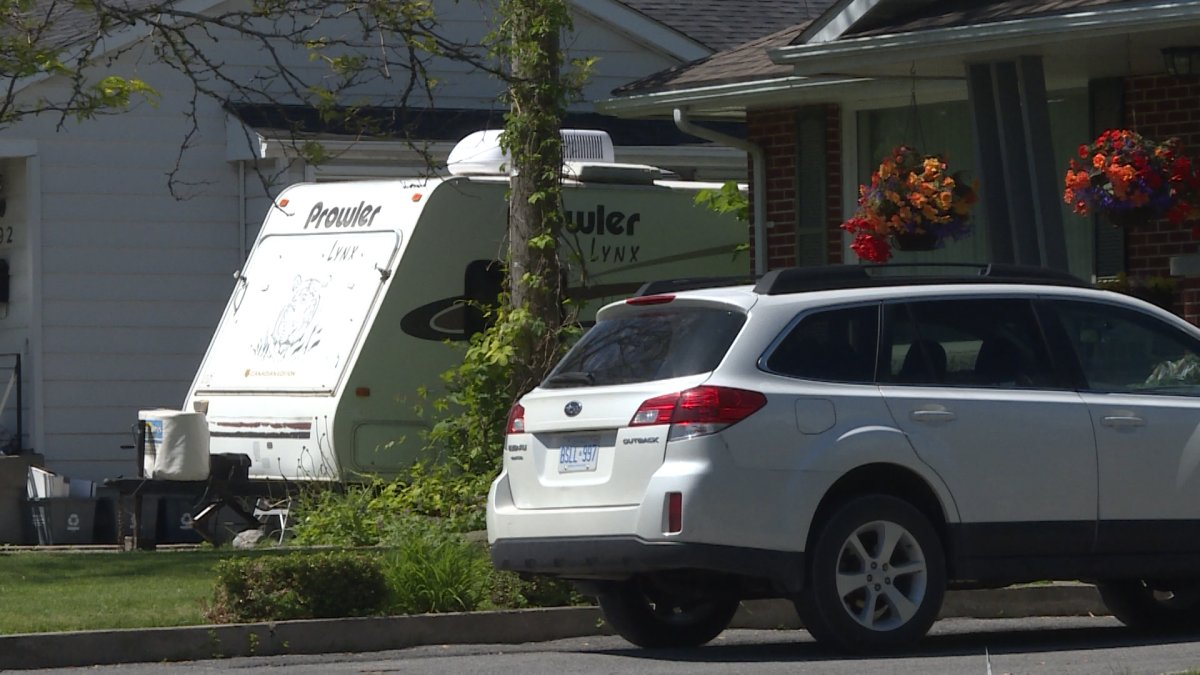 Kingston homeowners will soon be able to park their recreational vehicles, boats and trailers on residential driveways from April 1 to Oct. 31.