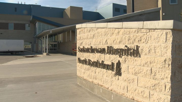 The province says there is no immediate health risk, but potable water is available for drinking and cooking at the North Battleford facility.