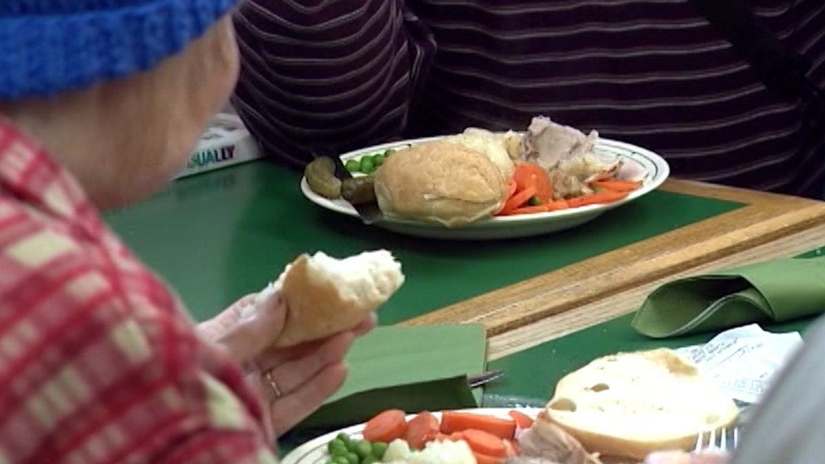 The meal program at the St. Vincent de Paul Society of Kingston.