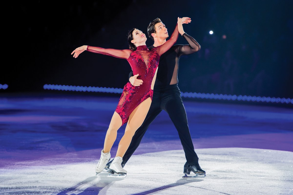 Tessa Virtue and Scott Moir are among the elite athletes headlining the Rock the Rink tour.