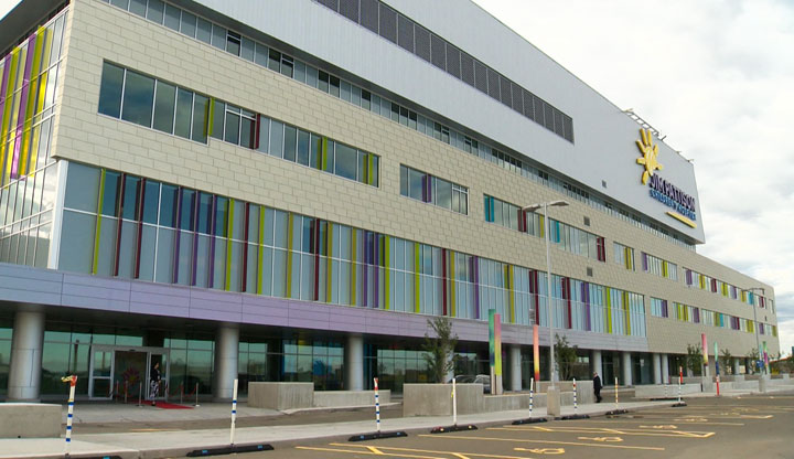 The Saskatchewan government says the opening of the Jim Pattison Children's Hospital contributed to the need to adjust health spending.