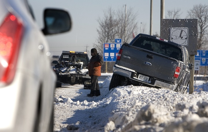 OPP say there have been over 400 crashes reported in the GTA within a 24-hour period after the first major snowfall of the season.