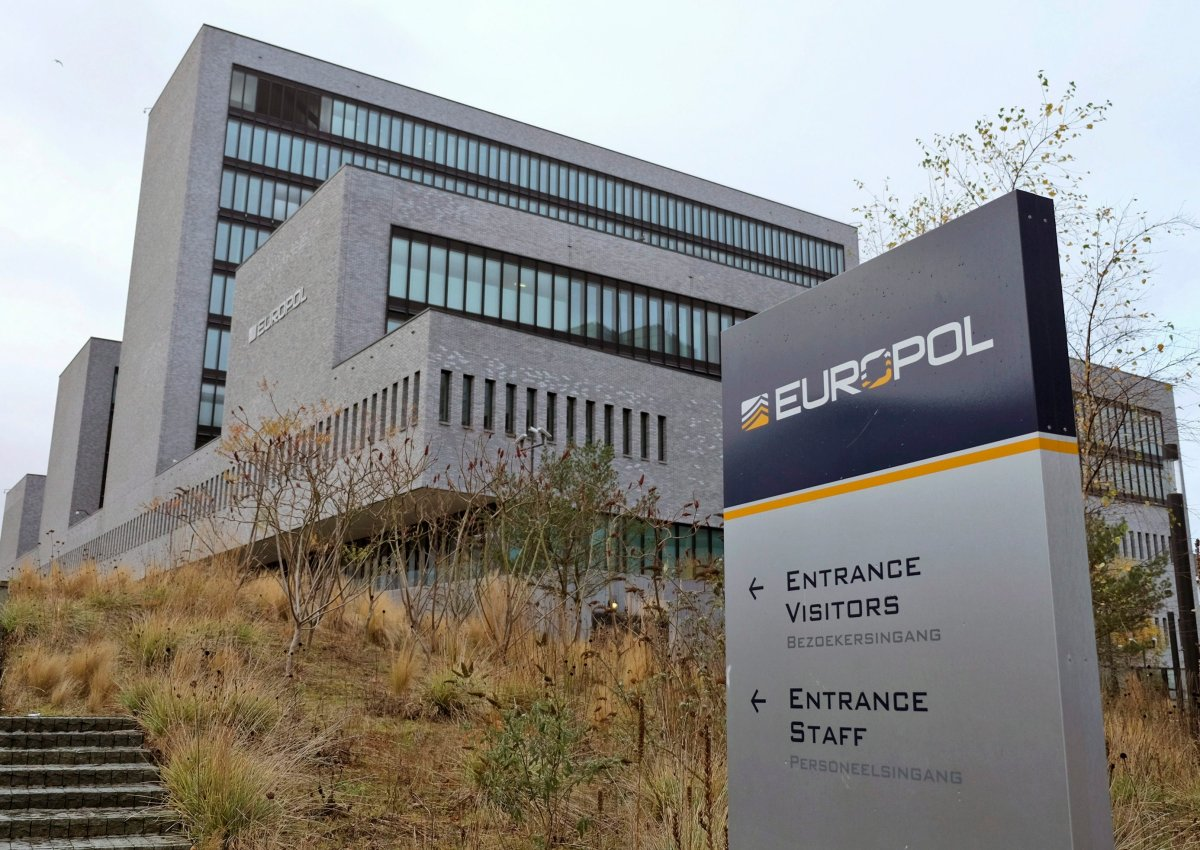 This Friday, Dec. 2, 2016 file photo shows the headquarters of Europol in The Hague, Netherlands.