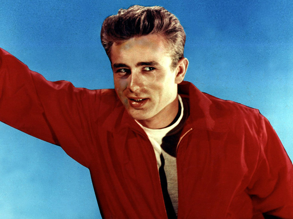 James Dean in 'Rebel Without a Cause' (1955).
