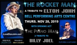 Continue reading: The Rocket Man – A Tribute to Elton John w/ Opening Act The Piano Man – A Tribute to Billy Joel