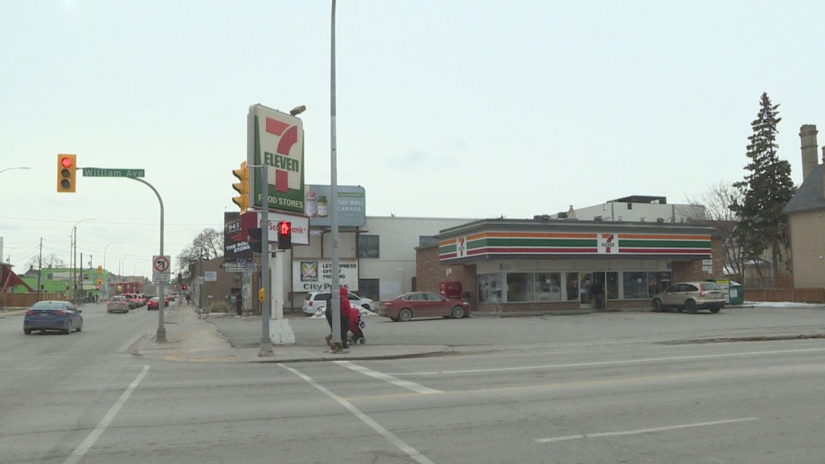 The 7-Eleven located at 500 William Avenue.