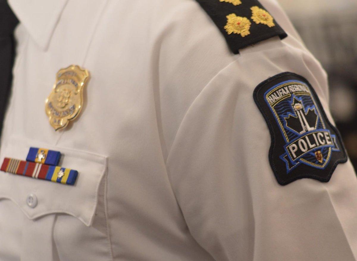Halifax police chief Dan Kinsella speaks to media.