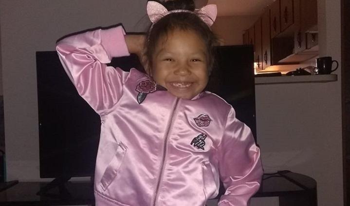 Skyrah Tawiyaka, 7, was killed following a collision that happened on Highway 10 northeast of Balgonie, Sask., on Sunday, Nov. 24, 2019.