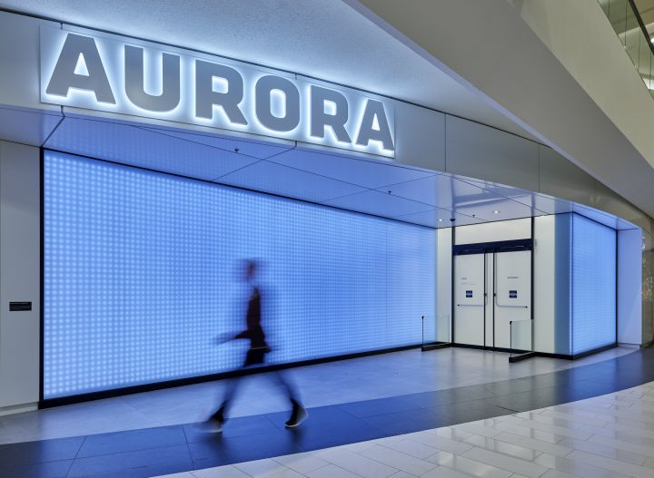 The Aurora Flaghip stores at West Edmonton Mall is set to open to the public on Wednesday, Nov. 27, 2019.