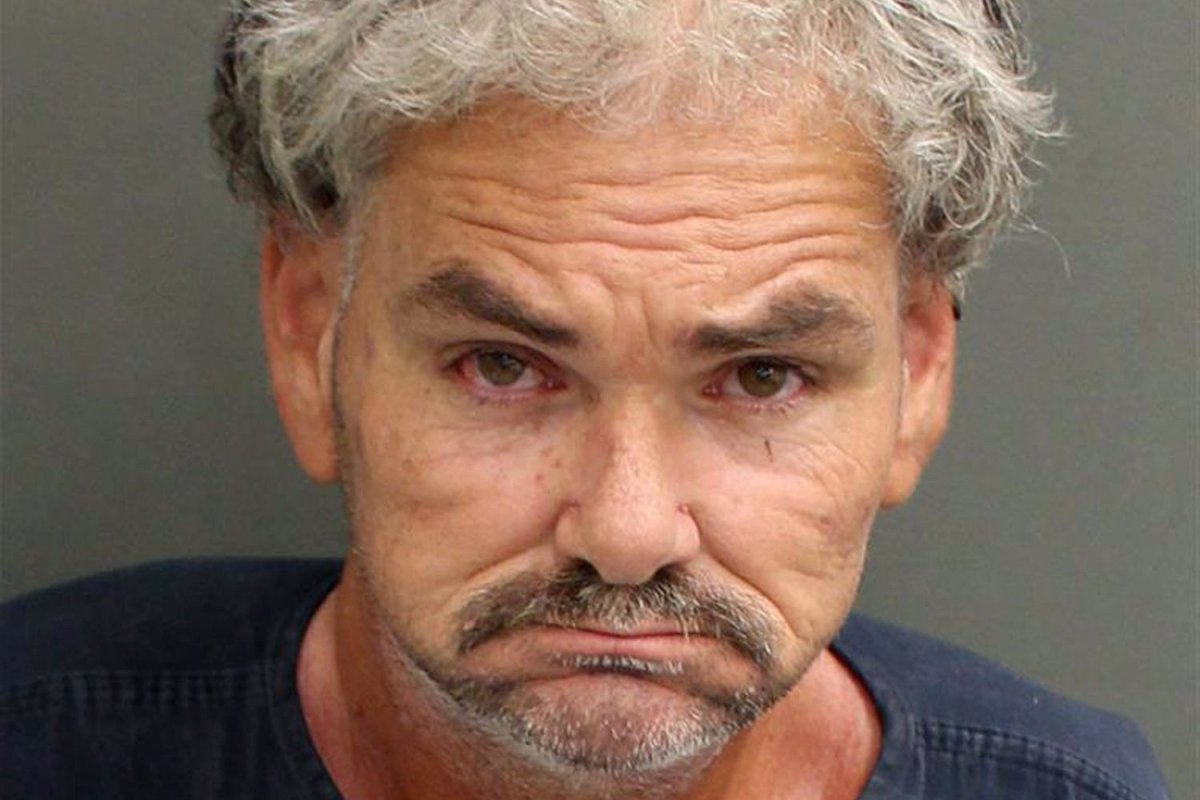 This Saturday, Nov. 2, 2019 booking photo made available by the Orange County Sheriff's Office shows Brian Sherman in Orange County, Fla.