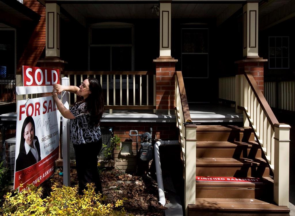 Home sales in December were up nearly 23 per cent compared to the same month a year earlier, when activity had been relatively quiet, the Canadian Real Estate Association said on Wednesday, Jan. 15, 2020.