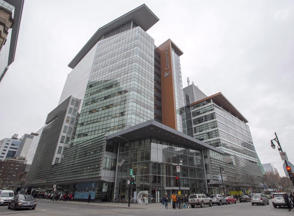 Concordia University's downtown campus is seen in this file photo.