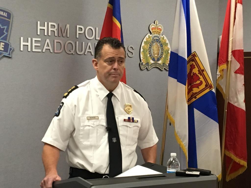 Halifax Regional Police Chief Daniel Kinsella.