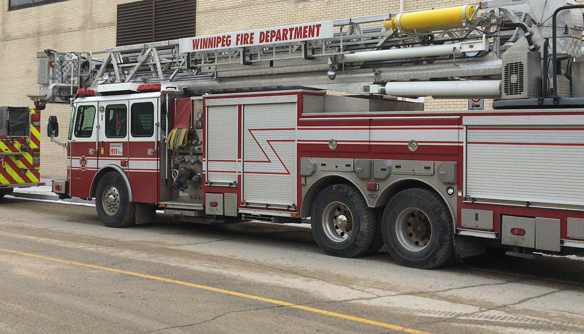 A Winnipeg fire truck.