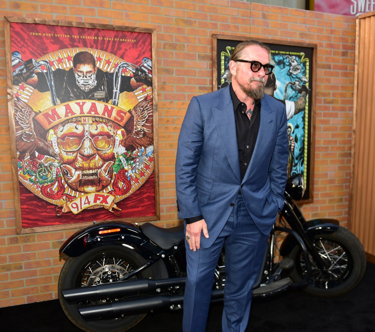 Kurt Sutter arrives at the premiere of FX's 'Mayans M.C.' at TCL Chinese Theatre on Aug. 28, 2018 in Hollywood, Calif.