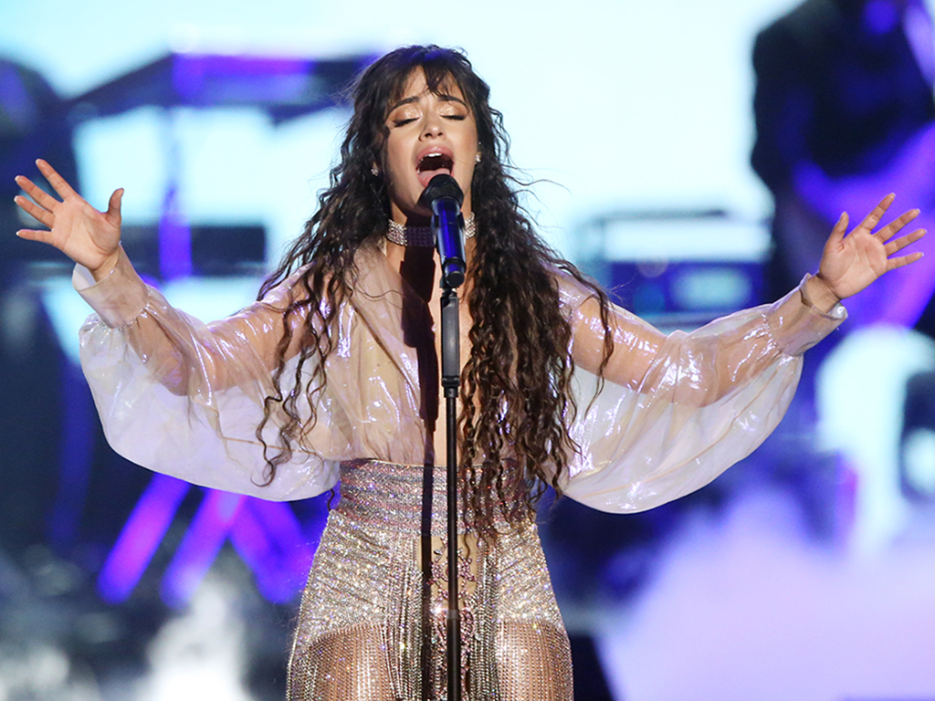 Camila Cabello performs onstage during the 2019 iHeartRadio Music Festival held at T-Mobile Arena on Sept. 20, 2019 in Las Vegas, Nev.