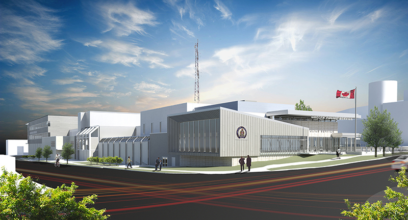 The completion of renovations at Guelph police headquarters has been pushed back to spring 2020.