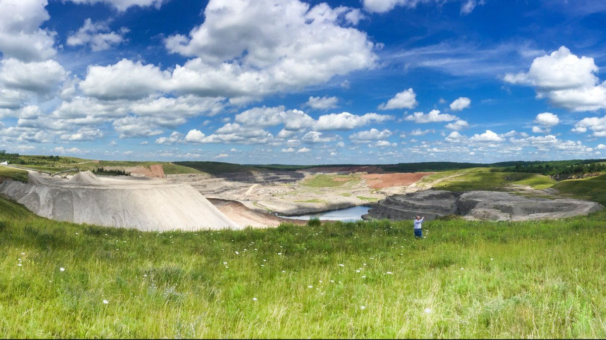 The Halifax quarry operated by the National Gypsum Company in 2016.