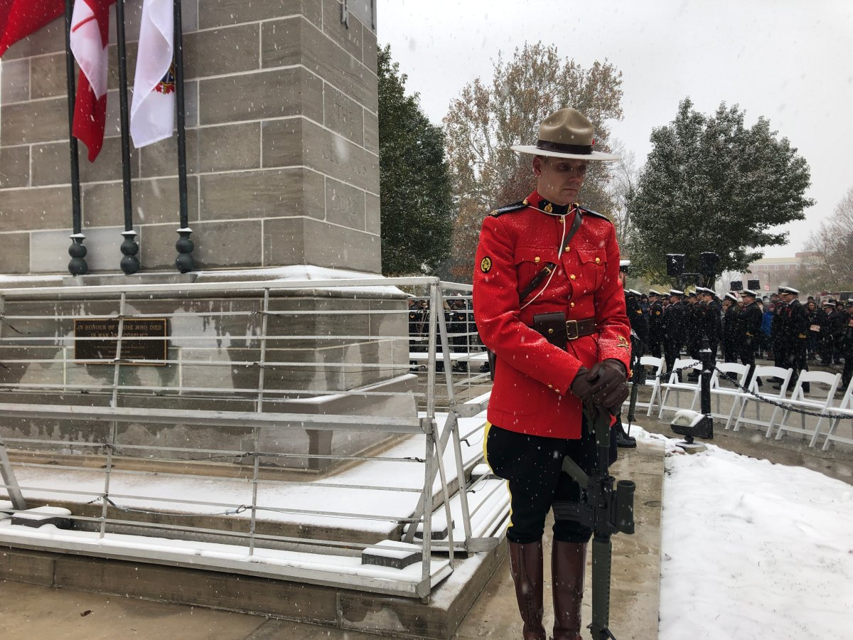 Unlike last year's celebration, 2020 will see a Remembrance Day celebration with no parade and limited attendance at the London Cenotaph.