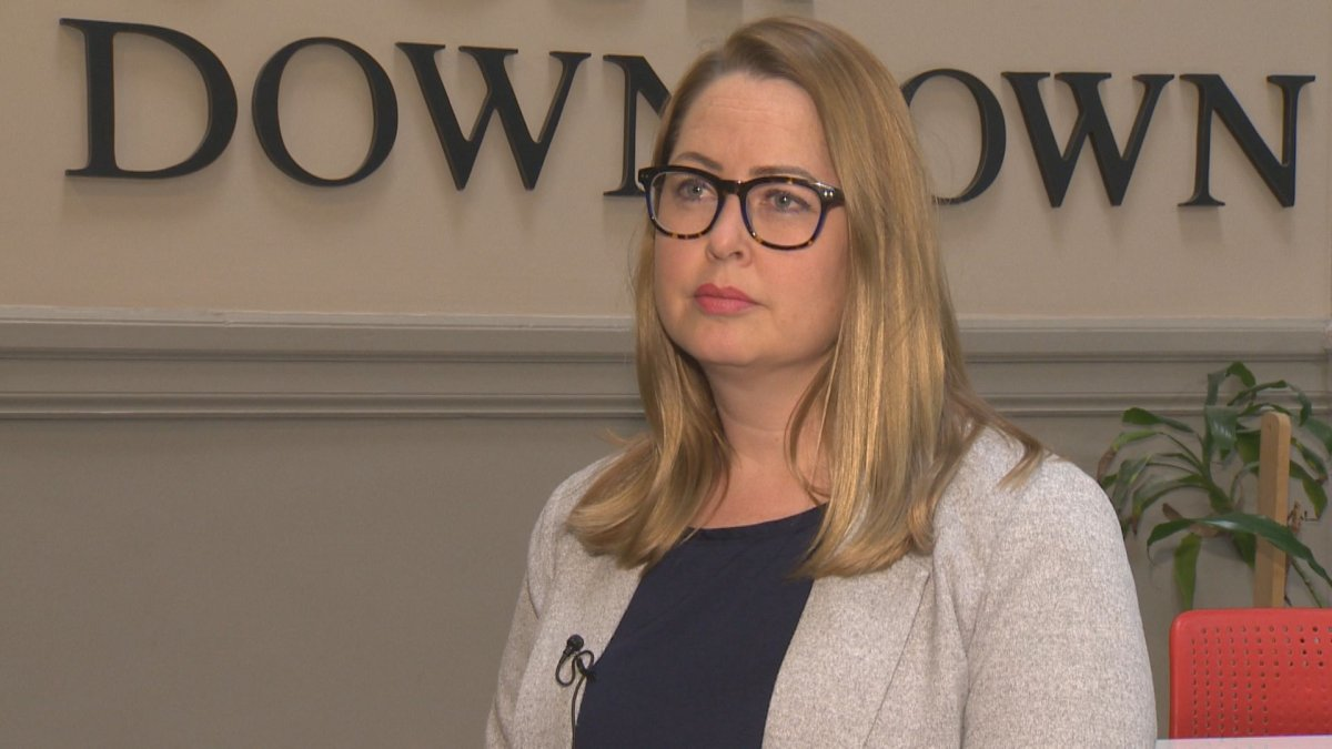Downtown Winnipeg BIZ CEO Kate Fenske says collaboration and information sharing is essential to improving safety.