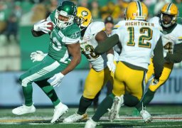 Continue reading: Late rally clinches West for Riders in win over Eskimos