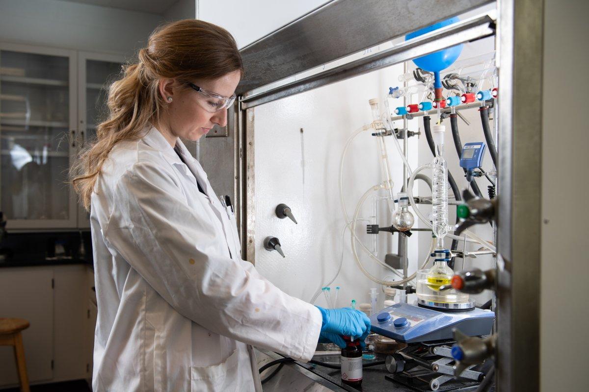 Barbora Balonova is a chemistry PhD student at University of New Brunswick.