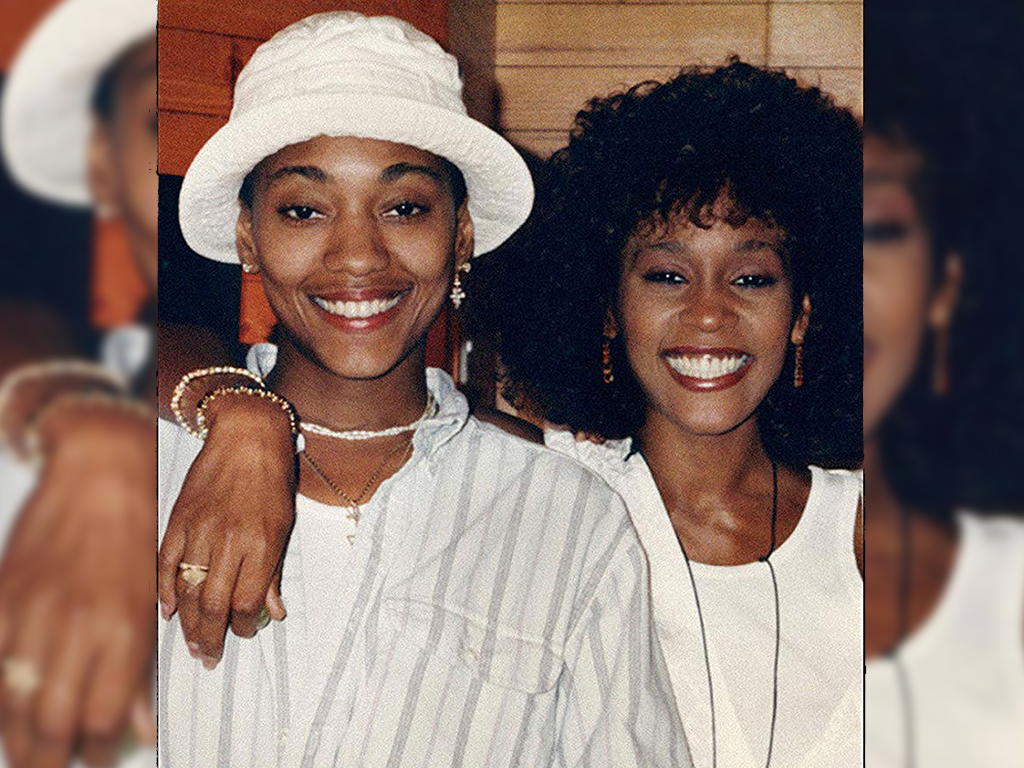 (L-R) Robyn Crawford and Whitney Houston on the cover of Crawford's upcoming memoir, 'A Song for You: My Life with Whitney Houston.'.