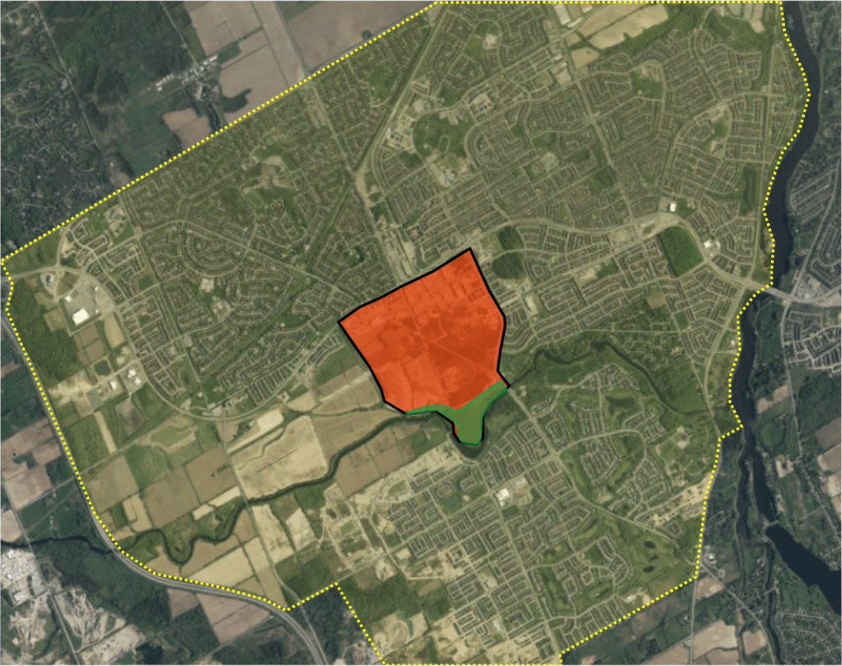 A new proposed Barrhaven downtown secondary plan was presented to the City of Ottawa's planning committee on Thursday, Nov. 28, 2019.