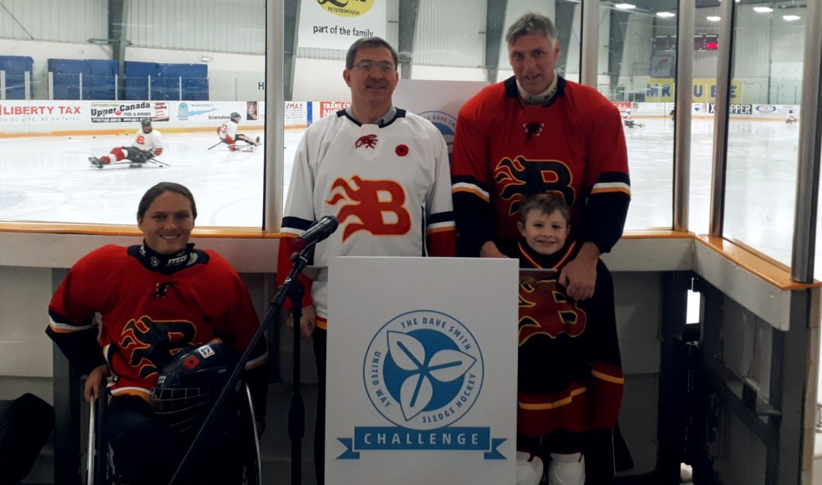 Peterborough-Kawartha MPP Dave Smith is hosting a sledge hockey challenge in support of the United Way Peterborough and District.