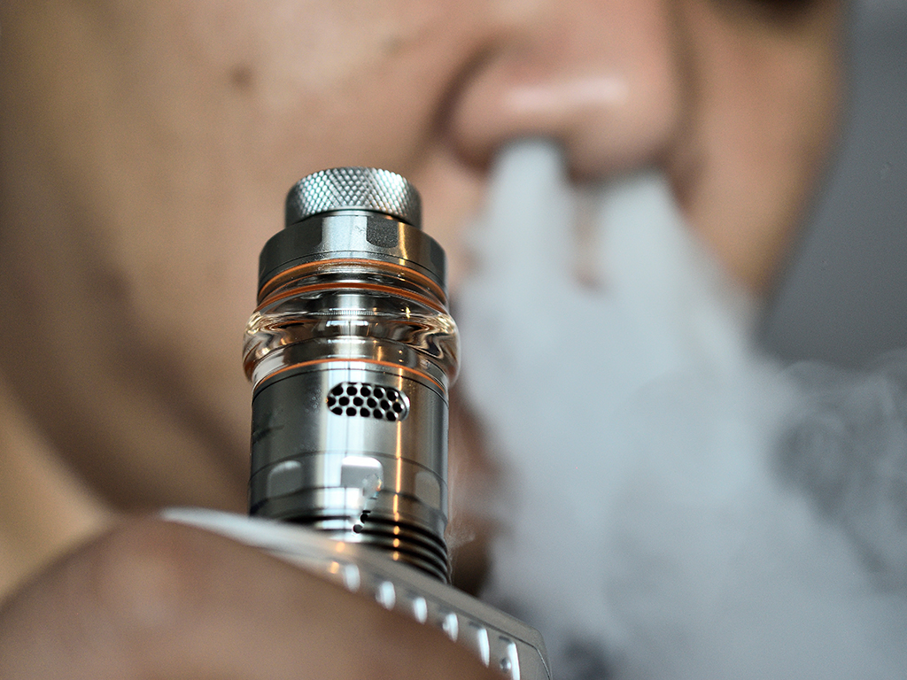 The move follows an amendment passed in March that banned flavoured vaping products.