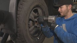 Continue reading: West Kelowna RCMP: 1 in 10 vehicles turned around for tire violations during random check