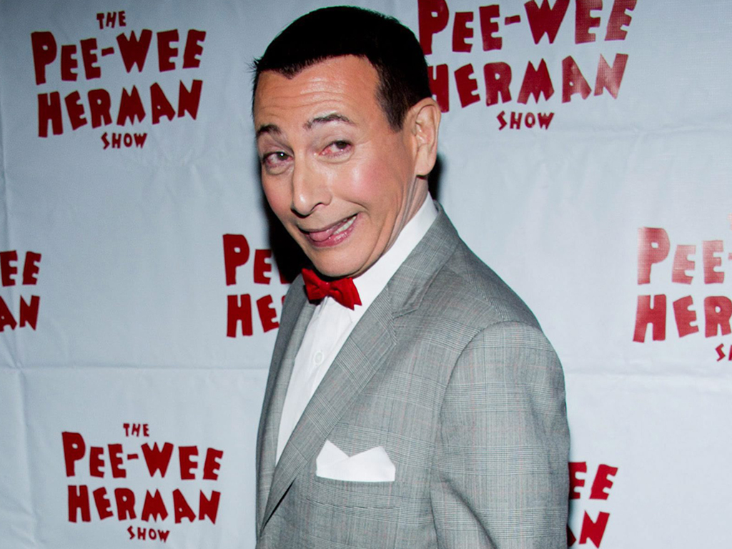 Paul Reubens, in character as Pee-wee Herman, attends the after-party for the opening night of 'The Pee-wee Herman Show' on Broadway in New York City in 2010.