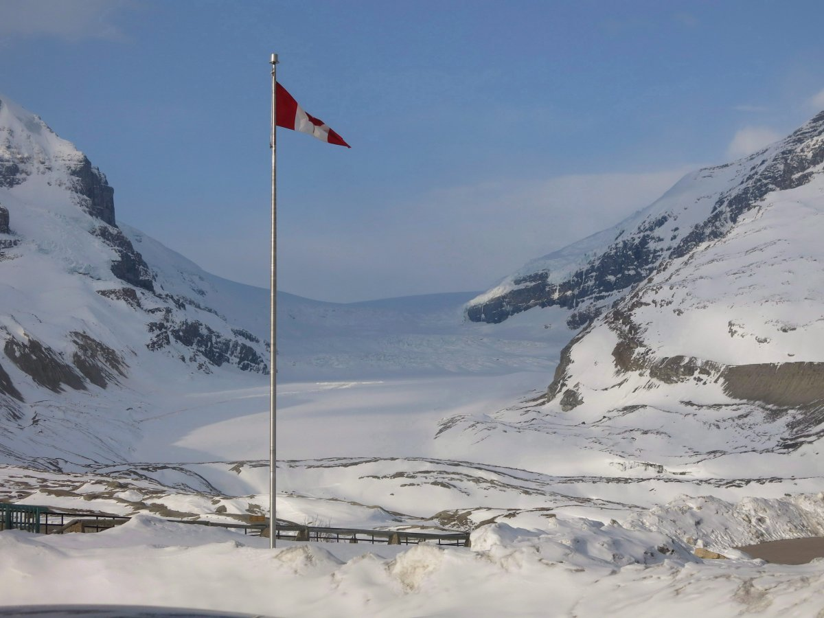 TThe Columbia Icefield, North America's most visited glacier, is shown in this photo taken May 5, 2015 from the Icefield Interpretive Centre.   THE CANADIAN PRESS/Bill Graveland.