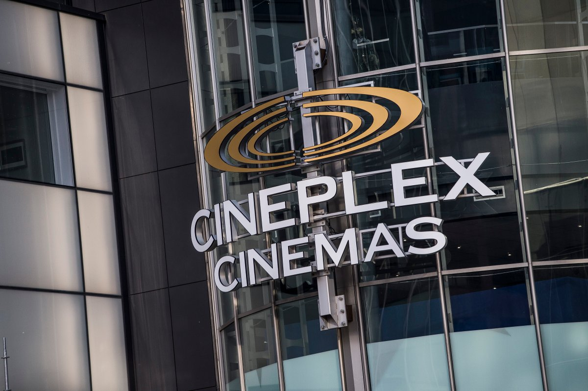 Cineplex Odeon Theater at Yonge and Eglinton in Toronto on Monday December 16, 2019. Cineplex Inc. has agreed to a friendly takeover deal that values the operator of Canada's largest chain of movie theatres at $2.8 billion, including debt.