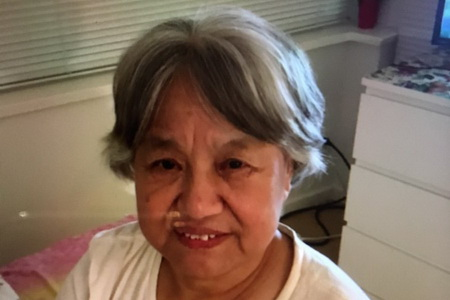 75-year old Feng Qin Zhou has been missing for three weeks — but volunteers say she's been spotted several times in the Steveston area.