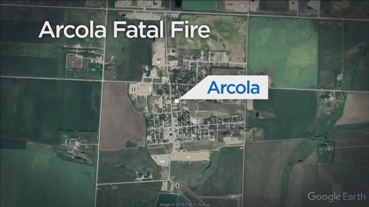 Fatal house fire in the town of Arcola.