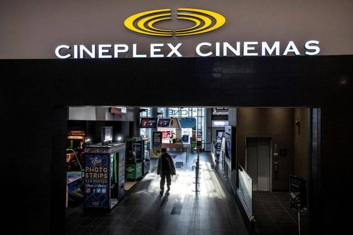 FILE: Cineplex Odeon Theater at Yonge and Eglinton in Toronto on Monday December 16, 2019.