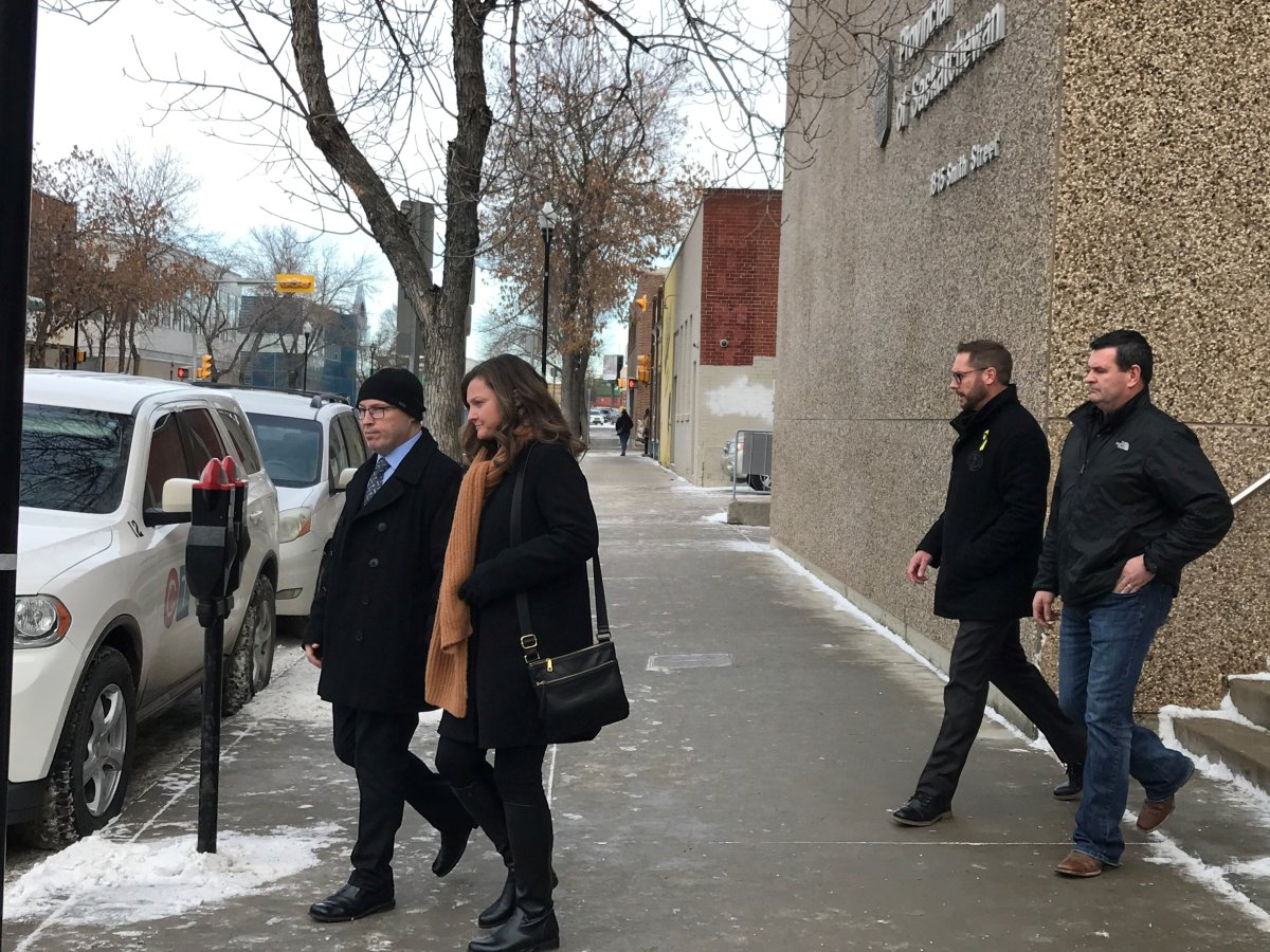 A former Regina police officer who was fired in August 2020, is appealing the decision in a week-long hearing that wrapped on Friday.