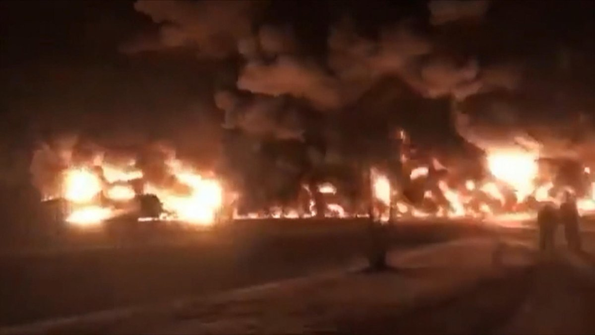 Canadian Pacific Railway said a train hauling crude oil derailed west of Guernsey, Sask., early Monday morning.