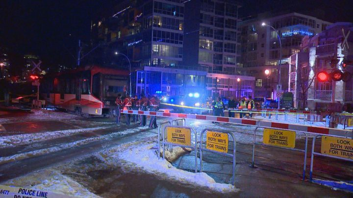 A 14-year-old girl was injured after a CTrain hit her on Monday, Dec. 30, 2019.