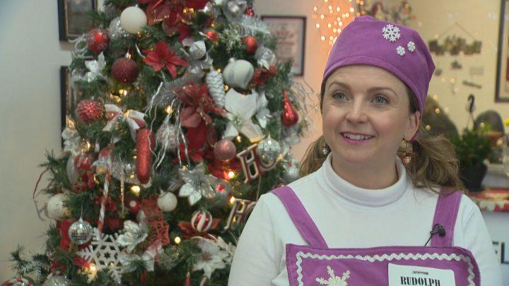 Magic of Christmas volunteer Kelsey Murdoch.