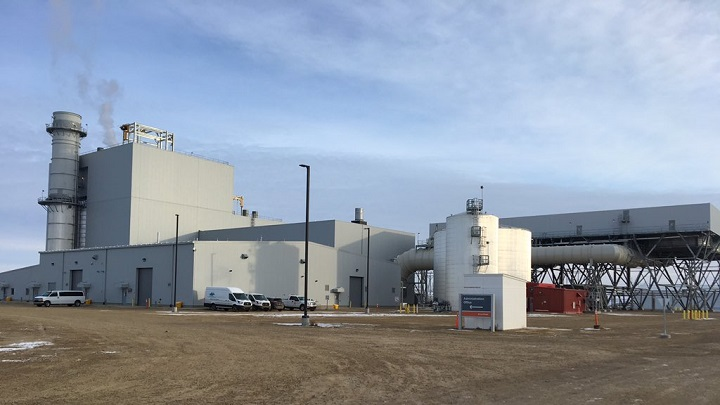 The proposed Moose Jaw, Sask., natural gas power plant will be similar in size as the Chinook Power Station in Swift Current.