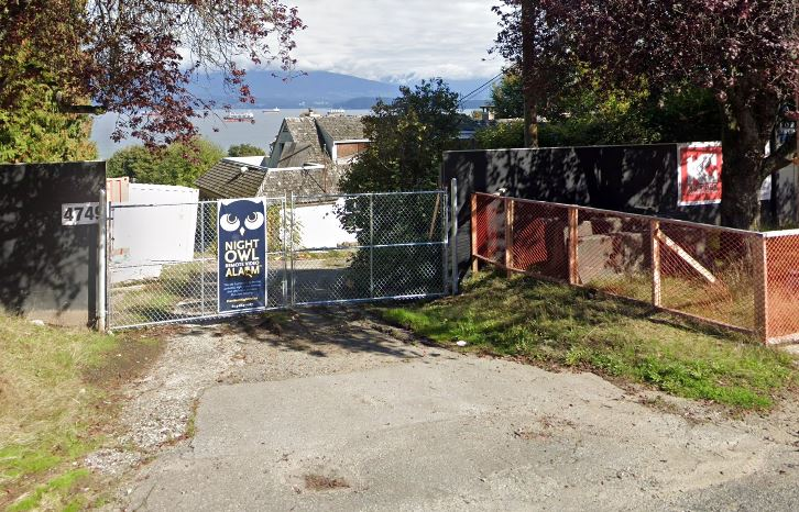 The property that sits at 4749 Belmont Avenue in Vancouver. The owner of the property has won a court battle over paying the city's empty homes tax.