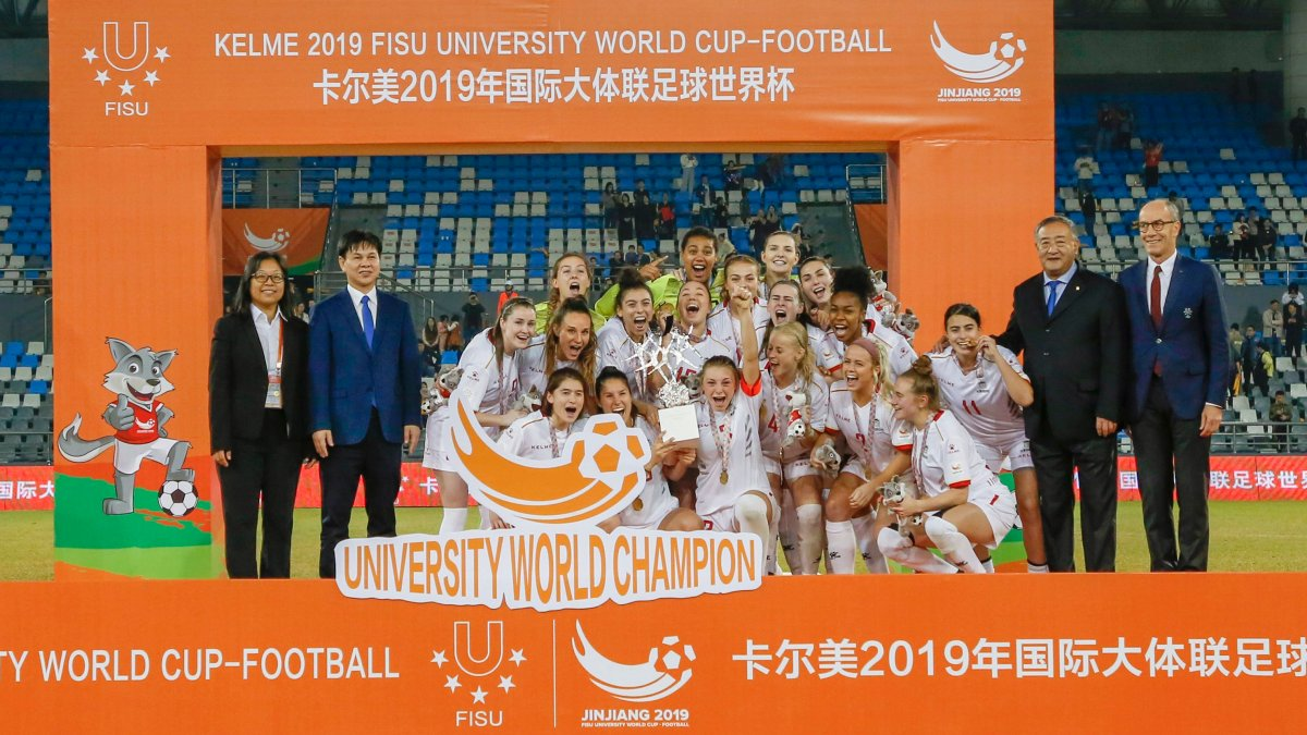 The University of Ottawa Gee Gees women's soccer team took home gold at the FISU championship on Saturday.