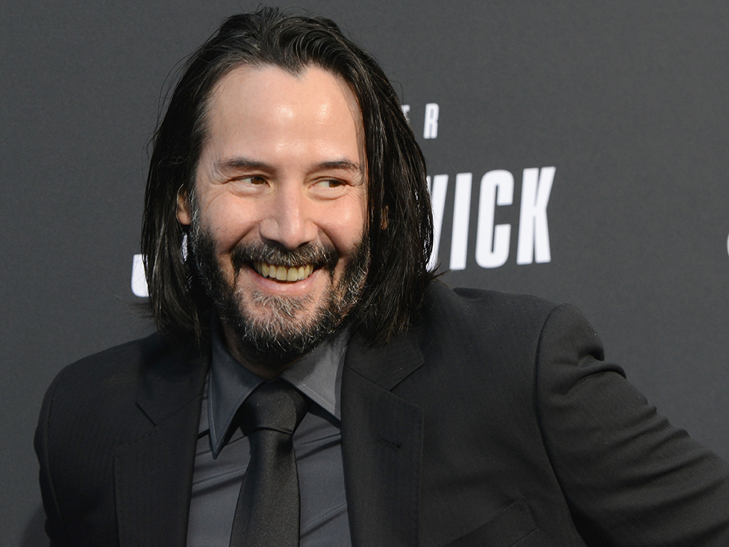 Keanu Reeves arrives for a special screening of Lionsgate's 'John Wick: Chapter 3 — Parabellum,' held at TCL Chinese Theatre on May 15, 2019 in Hollywood, Calif.
