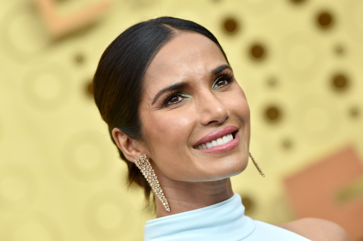 Padma Lakshmi attends the 71st Emmy Awards at Microsoft Theater on Sept. 22, 2019 in Los Angeles, Calif.