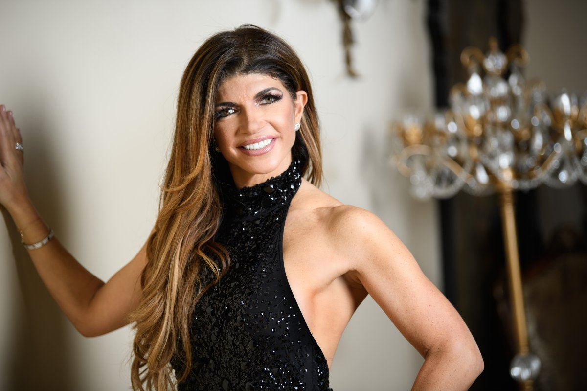 'RHONJ' Teresa Giudice Poses For A Portrait At Her Home on January 13, 2017 in Towaco, New Jersey.