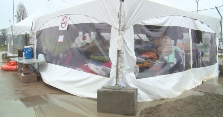 Outdoor overnight shelter site in Kelowna relocated